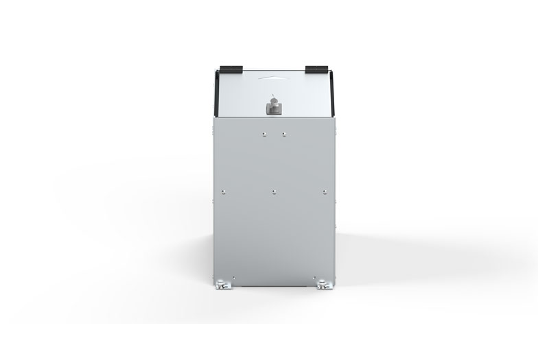 Aluminum Data File Box with Keys