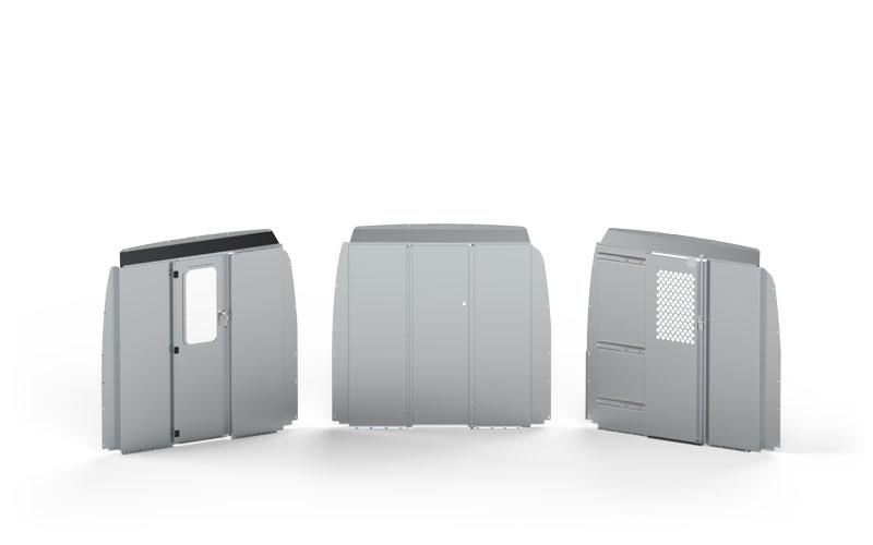 Aluminum Van Safety Partition Variations
